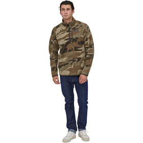 Patagonia Better Sweater 1/4 Zip Men, kansas sky/classic tan